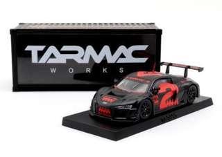 1:64 Audi R8 LMS 4A like Black (Red)
