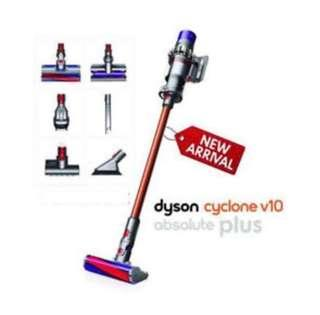 🚚 Dyson v10 absolute+