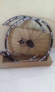 """RT RC3 Forest Pro - 26"""" wheelset for Hardtail Mountain Bicycle with 120 engagement hub (loud)"""