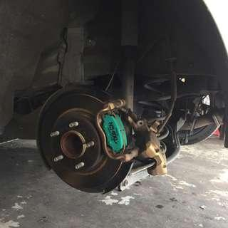 Project U Front & Rear Brake Pad Mazda 3 Skyactiv (RM278 Per Set)