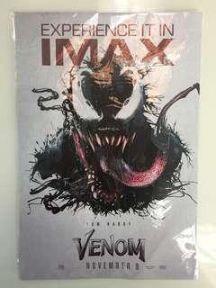 "Original ""Venom"" IMAX movie poster"