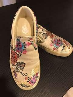 Vans Embroidery Flats / Shoes