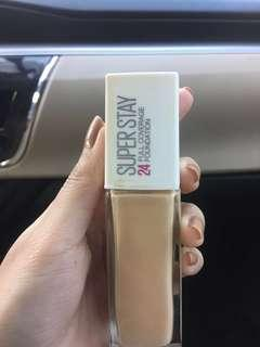 Maybelline 24hrs superstay foundation
