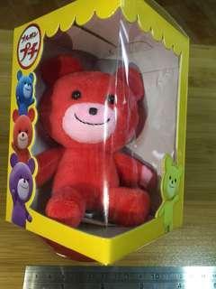 BOURBON北日本可愛小熊-吊飾(紅)