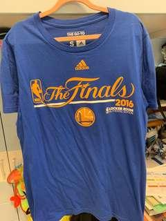 Warriors Warm-up Tee (official)