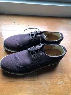 全新牛津真皮鞋
