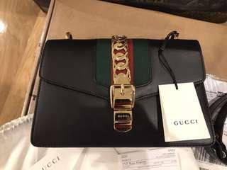 Authentic Gucci black bag