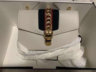 Authentic Gucci White Bag
