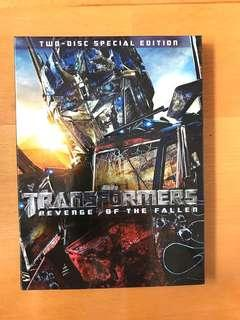 "變形金剛 ""Transformers: Revenge of the Fallen"" DVD"