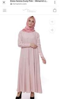 Mimamim Dress Serena Dusty Pink