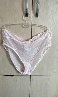 🚚 Cotton on sexy translucent lace panty