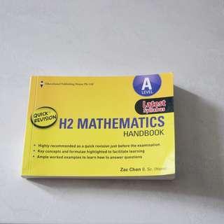 H2 Mathematics Handbook