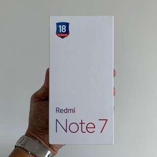 Redmi Note 7 Black 4 GB/64GB