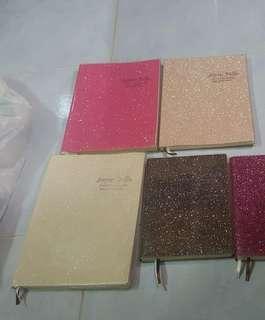 Notebooks 3 colors left