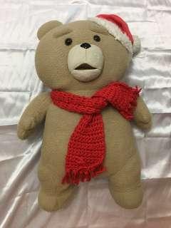正版日本聖誕造型賤熊Ted bear🐻