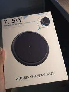 🚚 Fast Wireless Charger BNIB