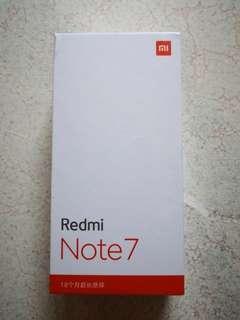 Redmi Note 7 Mobile Phone 4gb/64gb