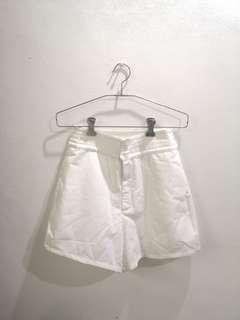 The Closet Lover white shorts