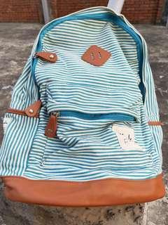 🚚 條紋後背包