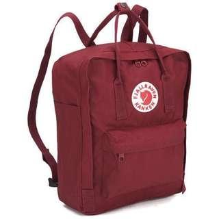 🚚 Authentic Fjallraven Kanken Classic in Ox Red