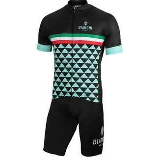 2019 Bianchi Cycling Jersey Set #1