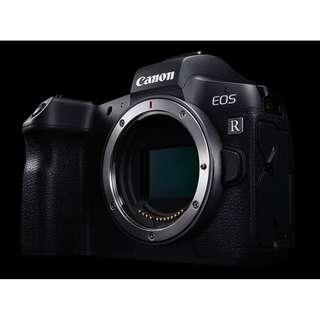 Canon EOS R Body Only. 1+2 Years Warranty from Canon  Malaysia.Free: Sandisk Extreme pro 64gb,Canon Adapter Canon Online Extra Battery