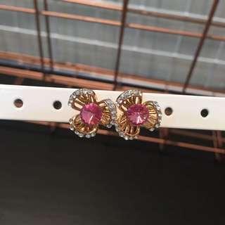 351 - Elegant Pink Earrings