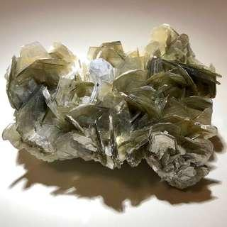 Wow! Beautiful Aquamarine With Muscovite!