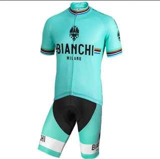 Bianchi Cycling Jersey Set #2