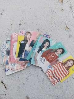 🚚 Twice 透明小卡 簽名小卡