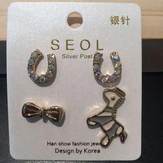 353 - 4 in 1 Set Earrings