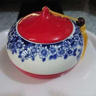 青花瓷密封罐