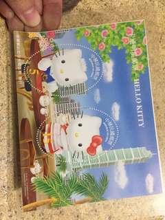 已絕版!中華民國x Sanrio Hello Kitty HelloKitty 郵票 民國93年