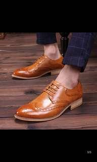 English shoe increased heights