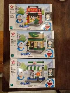 Doraemon shop series lego brick (3 for $10)