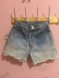 Levis ombre jeans short XS reprice