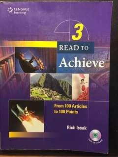 Read to Achieve 100篇英文閲讀練習