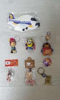 Keychains & luggage tag