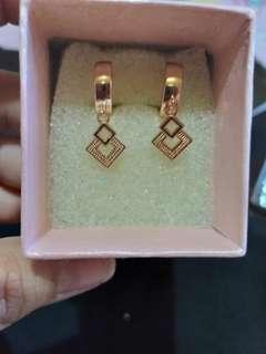 Bangkok Rosegold Earrings
