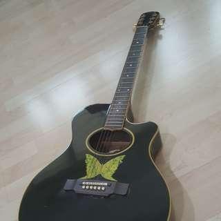 Vintage Epiphone Acoustic Guitar