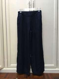 (REDUCED!) Uniqlo W'S HPJ TENCEL Wide Ankle Length Pants
