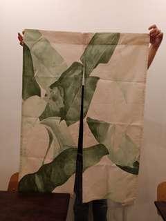 Japanese curtain 85cm width, 120cm height