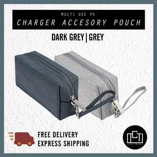 🚚 🔅cT🔅V5 Charger accessory pouch for cables and charger makeup pouch casing bag