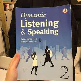 ✔️Dynamic Listening & Speaking 2(附光碟)