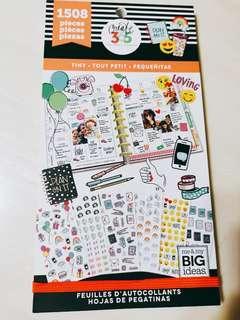 BN Happy Planner Tiny Sticker Boom