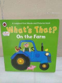 Buku anak - what's that?