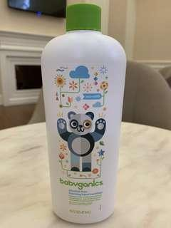 🚚 🇺🇸美國購回 Babyganics 綠潔寶貝 貝比潔妮 無香 無酒精 乾洗手液 補充瓶 50ml/473ml