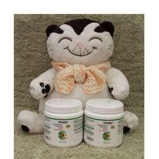 美國直送 Vetoquinol Viralys L-Lysine Oral Powder 100g