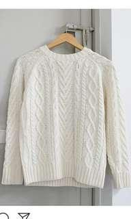 Sweater / knitted wear rajut import