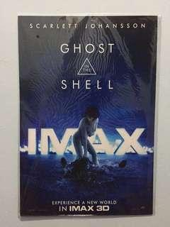 """Original """"Ghost in the Shell"""" IMAX 3D movie poster"""